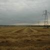 View across farmers field