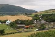 Maughold Village. Isle of Man.