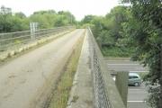 Minor road bridge across the M4