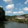 River Avon passing St Annes Park, Bristol