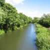 View East from bridge crossing River Kennet