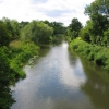 View West from bridge crossing River Kennet