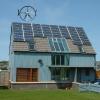 Experimental house built by Berwickshire Housing Association in Ayton