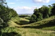 View near Blagdon
