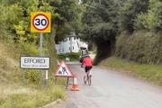 Cycling through Efford