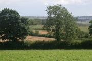 Mixed agriculture near Hole Farm