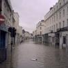 Floods at Bath Street, Royal Leamington Spa