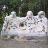 Sculpture at Dunsbear
