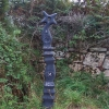 Milepost at Mayon Cliff