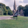 St Michael and All Angels Church from The Greens, Leafield