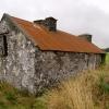 Disused cottage, Archallagan.   Isle of Man.