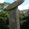 Sundial in the village of Dorstone