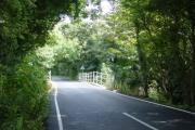 Bridge over Ditton Brook, Cartbridge Lane