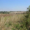 Arable land already ploughed for the next crop