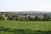 Plymtree: view south south east towards Payhembury
