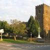 Church and War Memorial, Silsoe, Beds