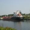 Tanker on the Canal