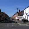 Terraced houses in Crewe Street, Derby