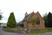 St Peter's Lee Brickhurst on a cloudy day