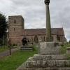 Woolhope church and cross