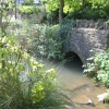 Bridge over the river Glyme at Cleveley