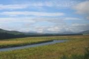 Strath Bran, looking west