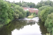 River Mersey, Stockport