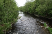River Caldew at Dalston