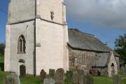 Challacombe: church
