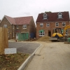 New housing development at Kingswood Lane, Hamsey Green, Surrey
