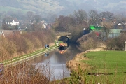 Macclesfield Canal, Lyme Green