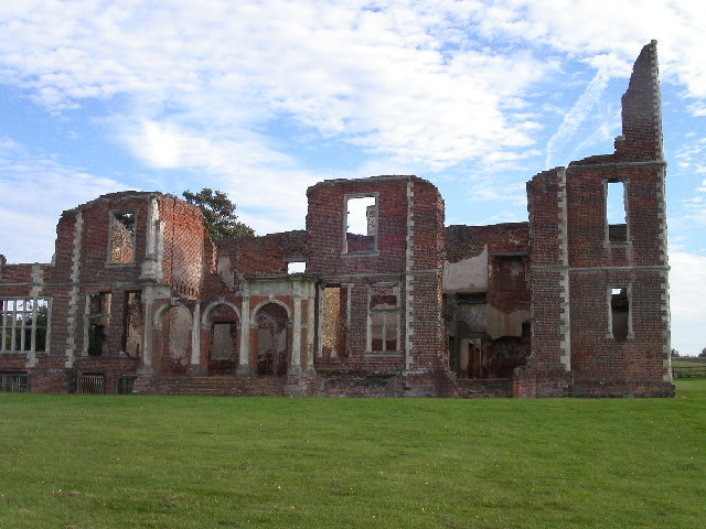 Houghton House north facade