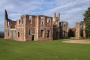 Houghton House south side and main entrance