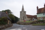 Shorwell church