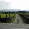 Farm track near Prenteg