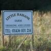 Sign for Little Rahane Farm