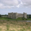 View of Carew Castle