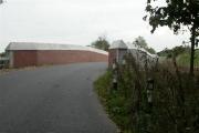 New railway bridge, old road