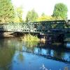West Drayton: Bailey Bridge over the River Colne