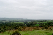 On the western slopes of Pew Tor
