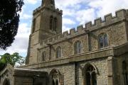 Catworth (Hunts) St Leonard's Church