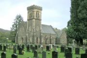 Church outside Abercraf