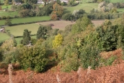 Goodrich from the slopes of Coppet Hill