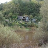 House overlooking to River Wye near Lower Lydbrook