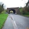Taplow: railway bridge over the A4 road