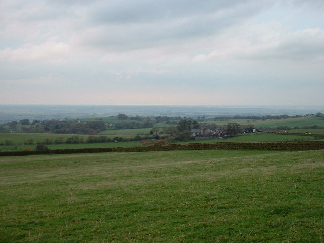 Farmland near Oakenclough