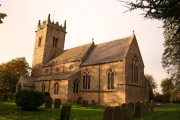 All Saints' church, Harmston, Lincs.