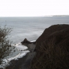 Blackchurch Rock from Brownsham Cliff