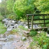 Footbridge Over Brockle Beck at Springs Wood