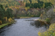 River Spey from bridge at Carron